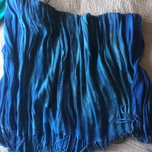 Organic dyed scarf